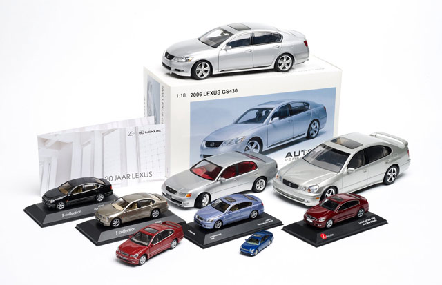 Lexus GS All Die-Cast Models