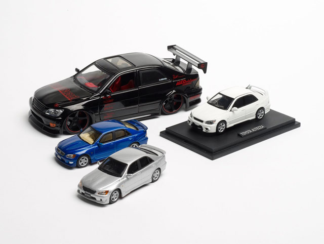 Lexus IS 200 & 300 Die-Cast Models