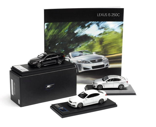 Lexus IS Die-Cast Models