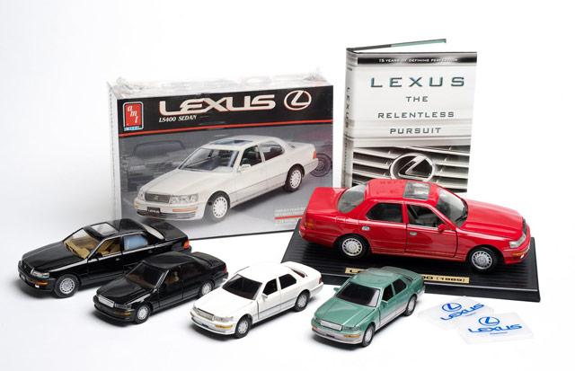 Lexus LS 400 Die-Cast Models