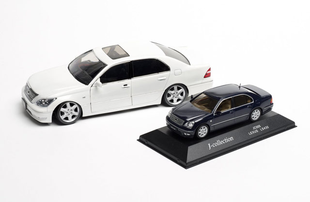 Lexus LS 430 Die-cast model