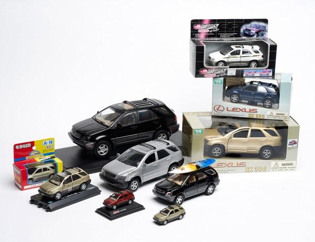 Lexus RX 300 Die-Cast Models