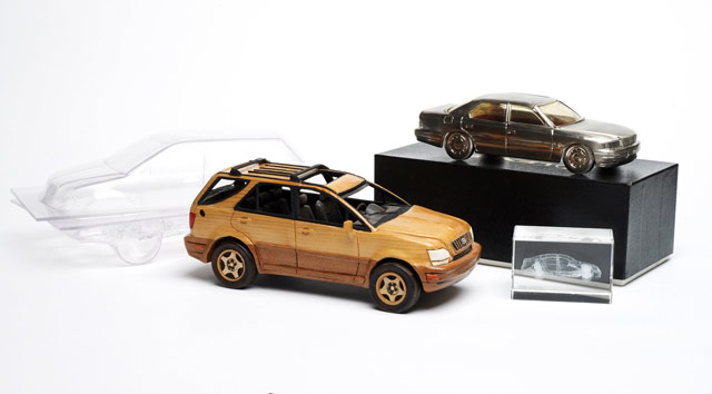 Lexus RX 300 Wood Model