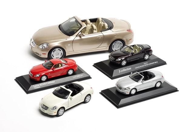 Lexus SC 430 Die-cast Models