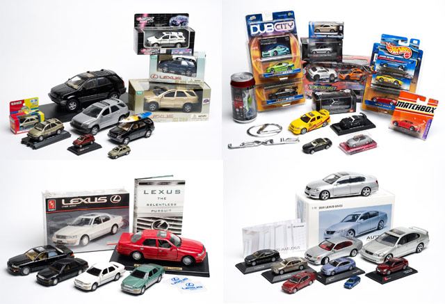 Massive Lexus Die-Cast Model Collection