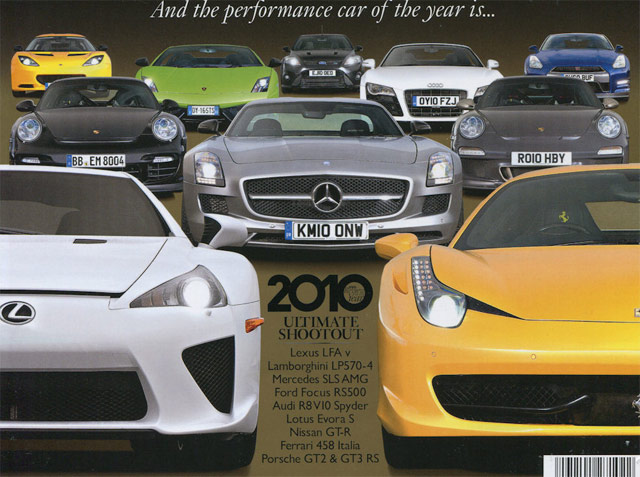 Lexus LFA EVO Car of the Year Cover