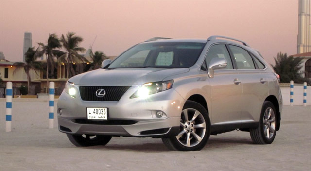 Lexus RX 350 Art Works Stone Designs