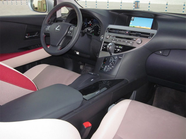 Lexus RX Art Works Interior