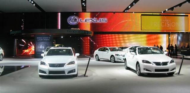 Lexus @ The Detroit Auto Show