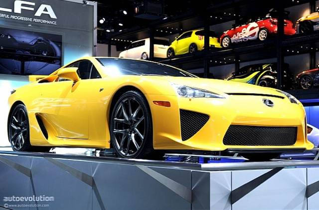 Lexus LFA at 2011 Detroit Auto Show