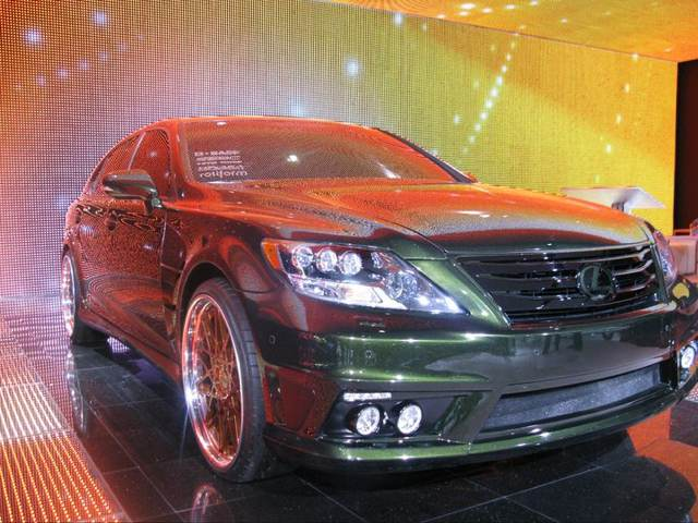 Lexus LS 600hL by Fox Marketing