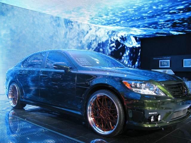 Lexus LS 600hL by Fox Marketing