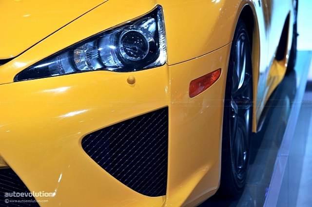 Orange Lexus LFA @ NAIAS