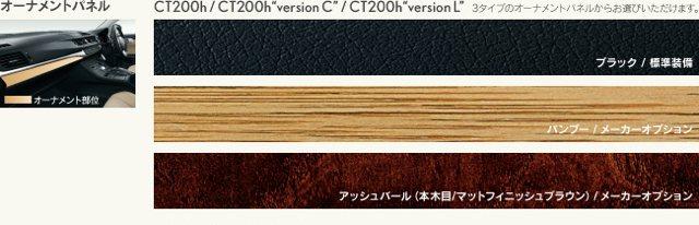 Lexus CT 200h Japan Trims