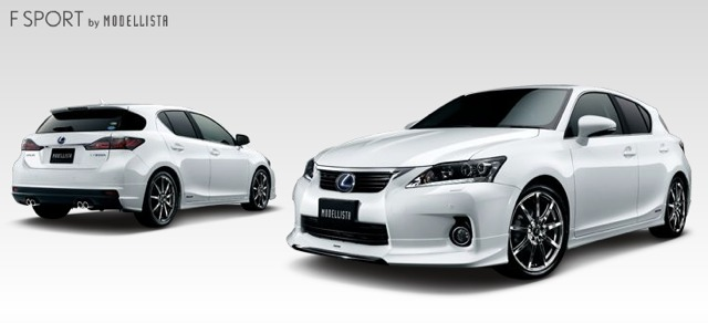 Lexus CT 200h Body Kit by Modellista