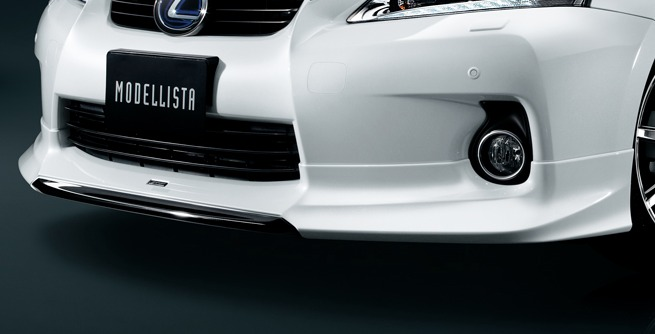 Lexus CT 200h Modellista Body Kit Front Under Bumper