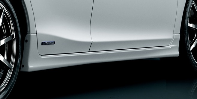 Lexus CT 200h Modellista Body Kit Side Skirts