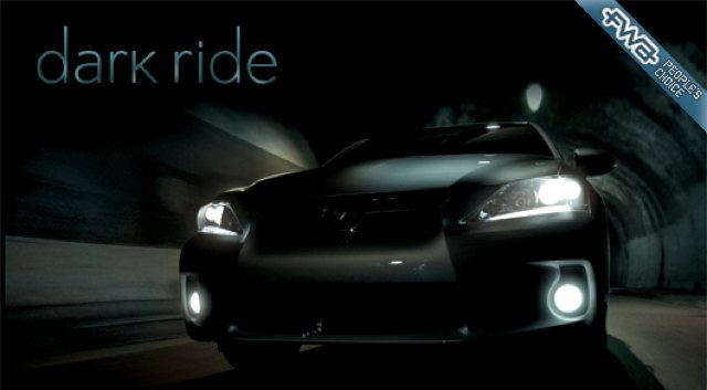 Lexus CT 200h Dark Ride wins FWA People's Choice Award