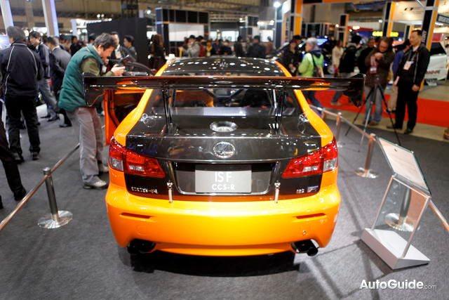 Lexus IS F CCS-R Racing Concept Rear