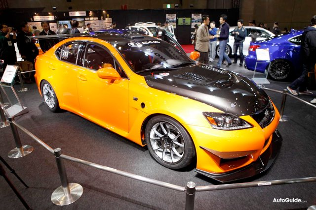 Lexus IS F CCS-R Racing Concept Side Profile