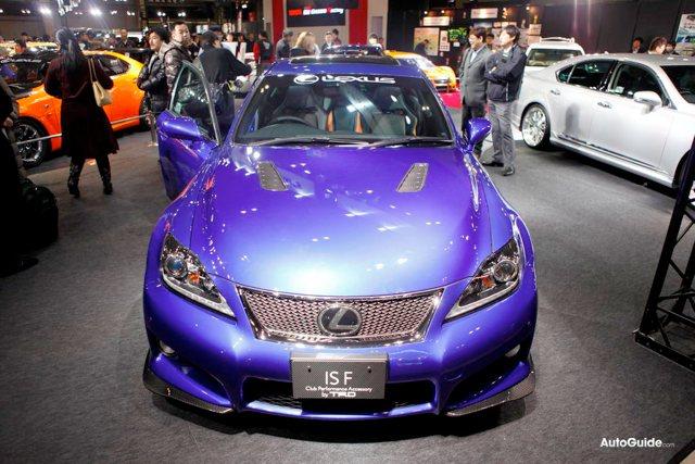 Lexus IS-F TRD Club Performance Accessory Rear