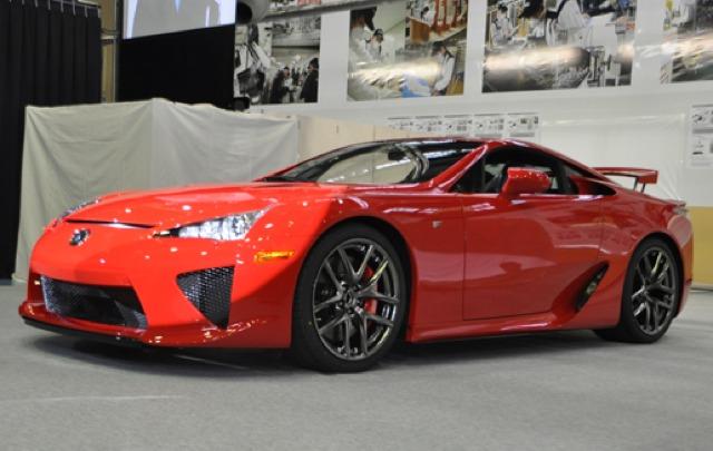 First Lexus LFA Production #001