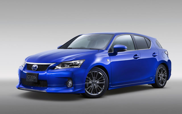 Lexus CT 200h F-Sport Wallpaper