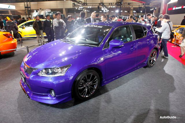Lexus CT 200h Modellista Body Kit Front