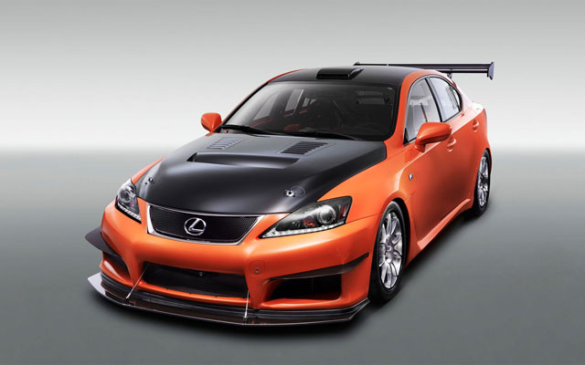 Lexus IS-F CCS-R Racing Concept Wallpaper