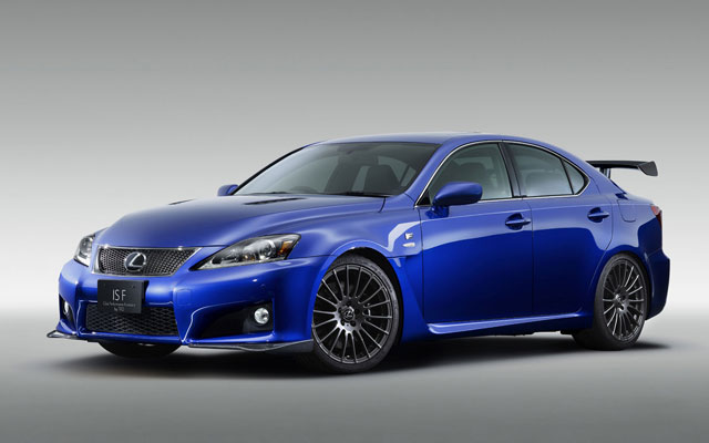 Lexus IS-F Club Performance Accessory by TRD Wallpaper