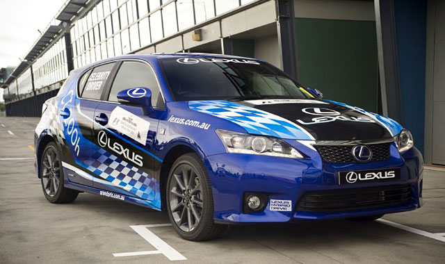 Lexus CT 200h Race in Australia