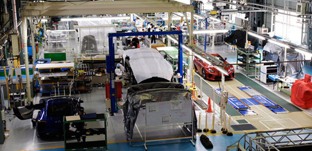 Lexus LFA Manufacturing Facility