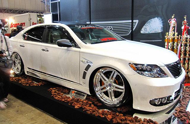 Lexus at the Tokyo Auto Salon