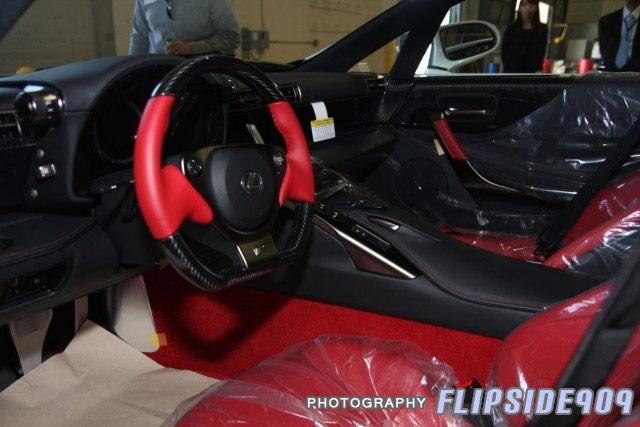 Lexus LFA #006 Interior