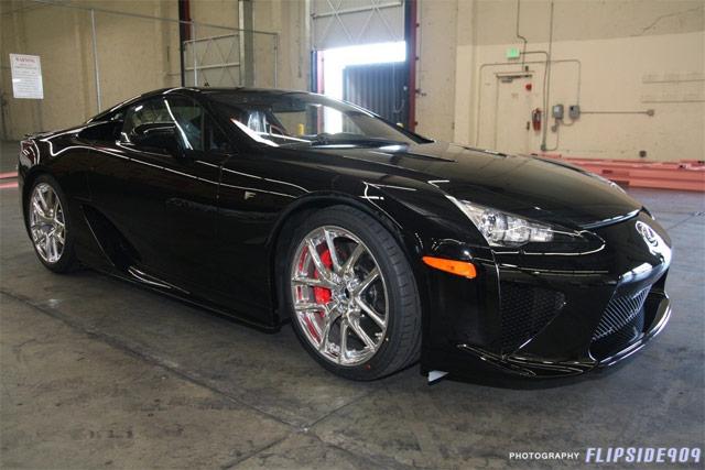 Lexus LFA Black #026