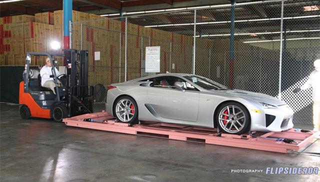 Lexus LFA Unboxing