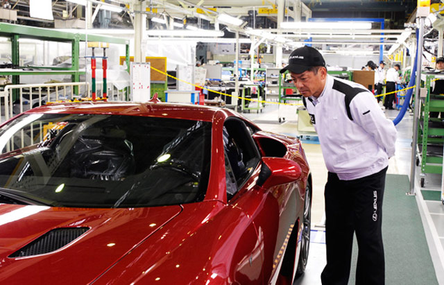 Lexus LFA Manufacturing Plant Inspection