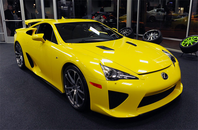 Lexus LFA & CEC Wheels Partner Up