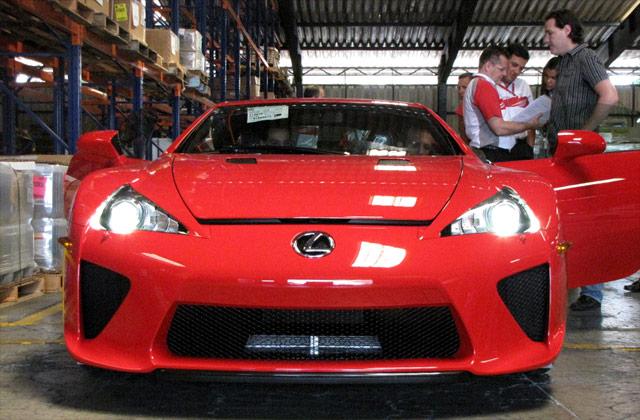 Lexus LFA #014