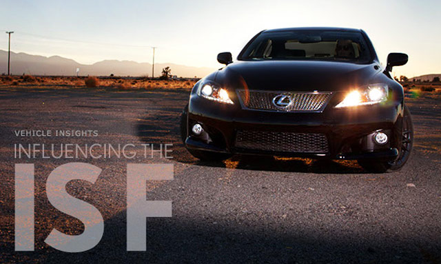 Lexus Magazine: Influencing the Lexus IS-F