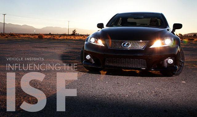 Lexus Magazine: Influencing the Lexus IS-F