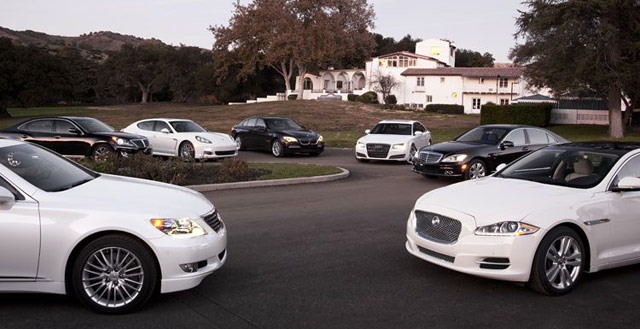 Motor Trend's Flagship Sedan Comparison