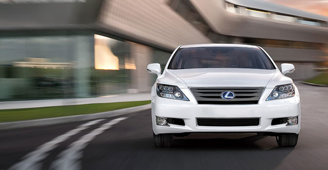 Lexus LS 600hL with Darker Grille