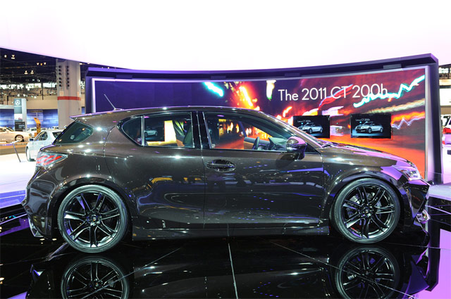 Lexus Project CT by Five Axis Side Profile