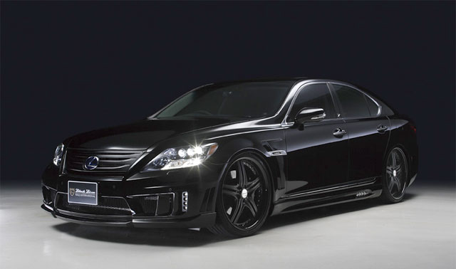 Lexus LS 600hL Black Bison Sports Line Kit from Wald
