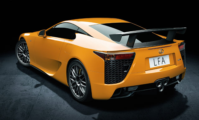 Lexus LFA Nürburgring Package Debuting in Geneva