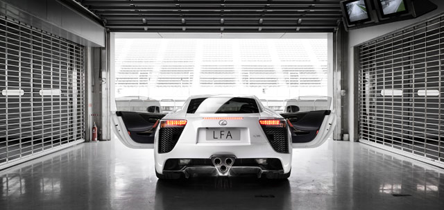 Lexus LFA Driver Training