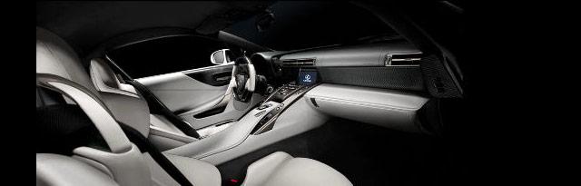 KREW Lexus LFA Interior