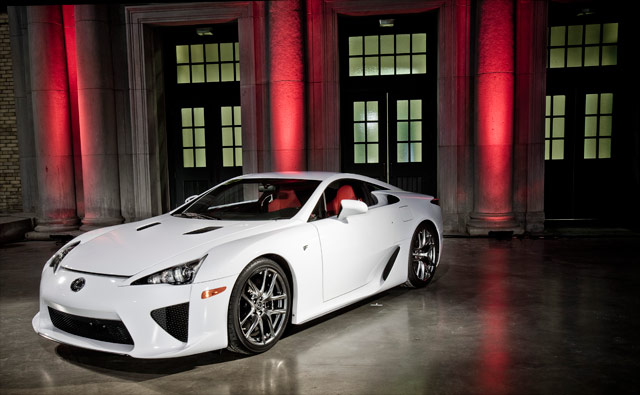 Lexus LFA Configuration Event