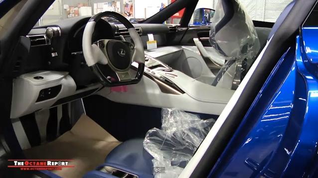 #017 Lexus LFA Interior